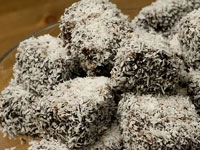 Ламингтоны Мокка, Mocha Lamingtons