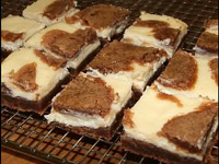Брауни с «кремом чиз», Cream Cheese Brownies